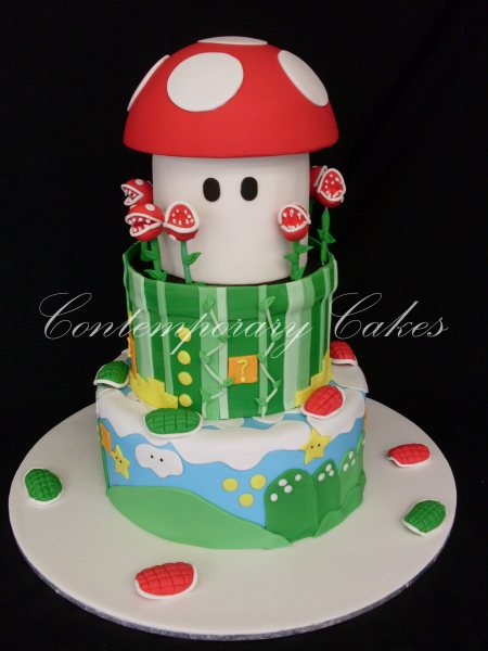Super Mario Cake Brisbane Contemporary Cakes