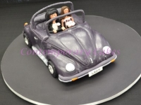Volkswagen Beetle wedding cake Car Brisbane Contemporary Cakes
