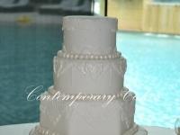Versaces wedding cake 4 tier Brisbane Contemporary Cakes