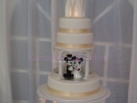 Water fountain Wedding cake Brisbane Contemporary Cakes