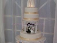 Water fountain Wedding cake Brisbane Contemporary Cakes