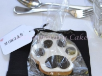 Dog Paw Wedding Cookies by Contemporary Cakes and Classes