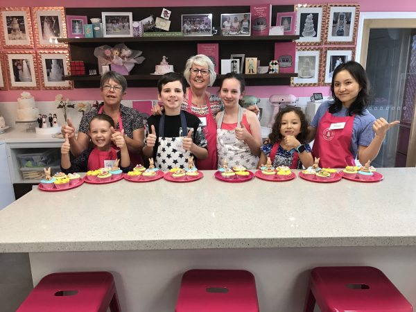 Childrens cupcake parties