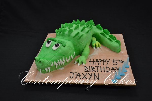 crocodile cake Contemporary cakes and Classes