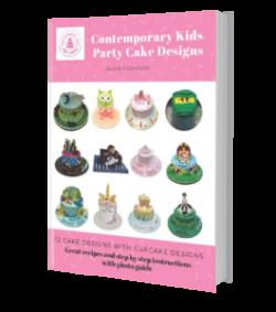 Contemporary Kids Party Cake Design