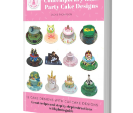 Contemporary Kids Party Cake Design