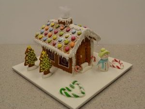 Gingerbread house class at Contemporary Cakes and Classes