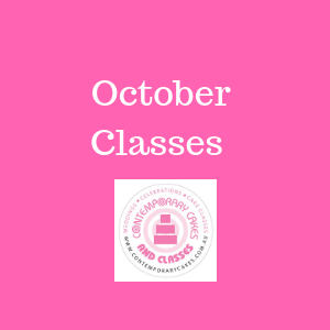 October Cake Decorating and Baking Classes Contemporary Cakes and Classes Daisy Hill