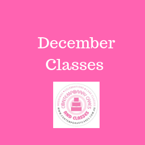 December 2020 Cake Decorating and Baking Classes