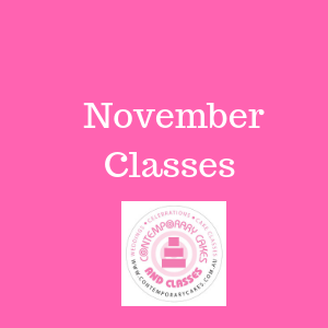 November 2020 Cake Decorating and Baking Classes Contemporary Cakes and Classes Daisy Hill