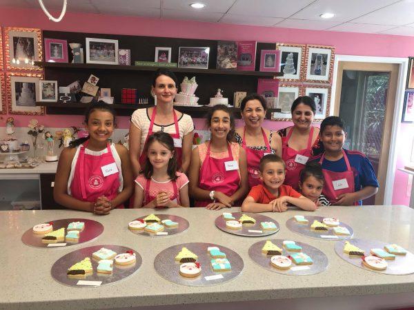 Cake classes kids, brisbane, logan gold coast