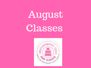 August Cake Classes Brisbane Logan