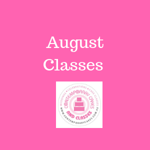 August Cake Decorating and Baking Classes Contemporary Cakes Daisy Hill