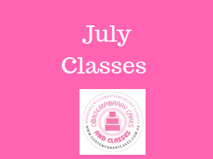 July Cake Classes Brisbane logan