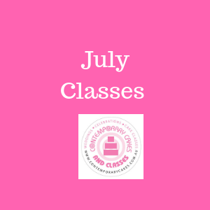 July Cake decorating and baking classes Cake Decorating and Baking Classes Contemporary Cakes Daisy Hill