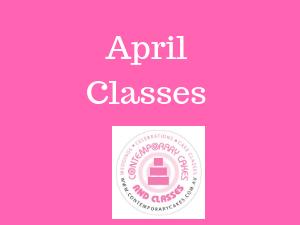 April Cake Classes Brisbane /Logan