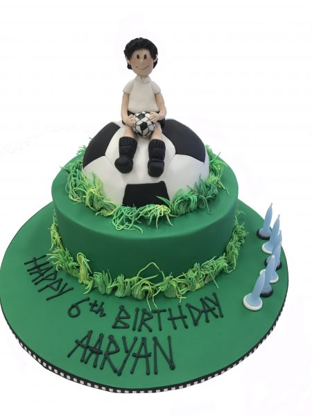 Football soccer Cake Contemporary Cakes and classes