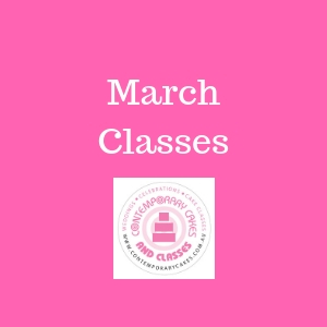 March 2021 Cake Decorating and Baking Classes Daisy Hill Logan