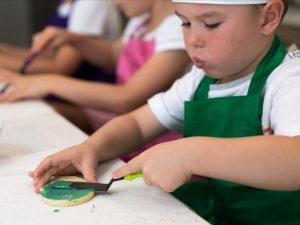 Kids cookie classes Contemporary Cakes