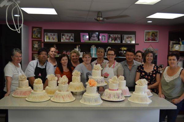 John Quai Hoi teaching at Contemporary Cakes and Classes