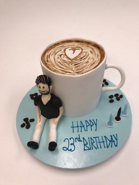 cappucino coffee mug cake Contemporary Cakes and Classes