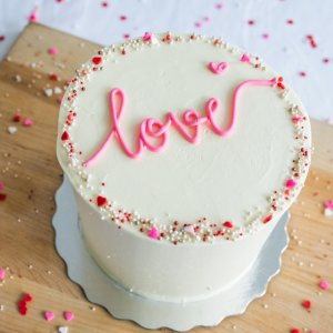 Valentines Love is in the air cake class