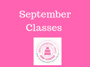 September Cake classes Brisbane Logan