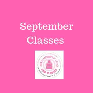 September 2020 Cake Decorating and Baking Classes Contemporary Cakes and Classes Daisy Hill