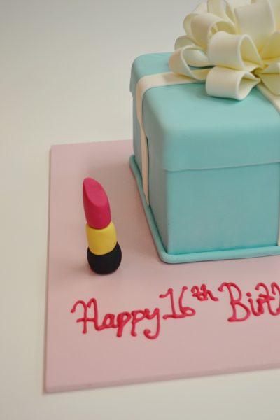 Tiffany Box birthday cake Contemporary Cakes and Classes