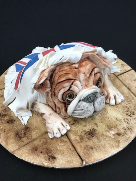 British Bulldog cake Contemporary Cakes and Classes