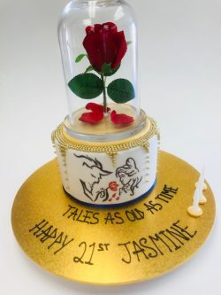 Beauty and the beast cake Contemporary Cakes and Classes