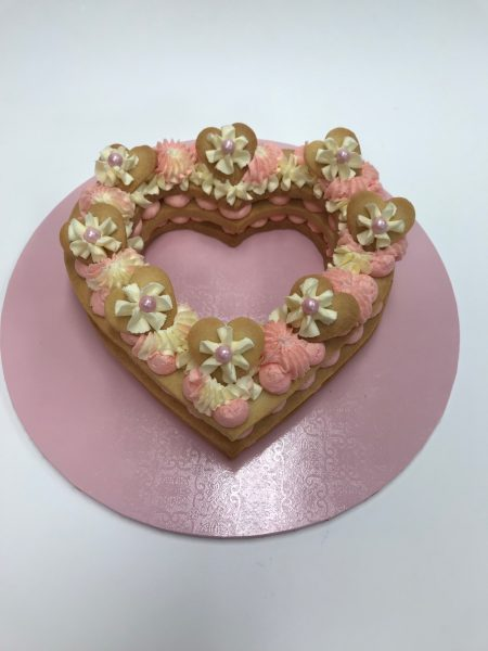 heart cookie contemporarycakes and classes