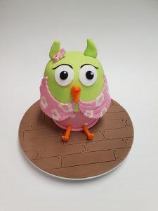 owl cake contemporary kids cake designs book 2