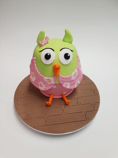 owl cake contemporary kids cake designs book 2
