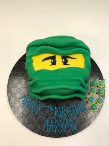 ninga-birthday cake by Contemporary Cakes Jackie Thompson cake-