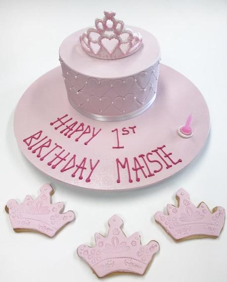 Princess tiara Cakes Contemporary Cakes and Classes