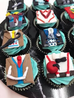 Dr Who cupcakes Contemporary Cakes and Classes