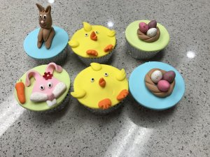 Easter cupcakes Contemporary Cakes and Classes..