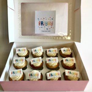 Friyay Corporate Cupcakes