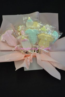 Baby-cake cookies -at-Contemporary-Cakes-and-Classes-Brisbane