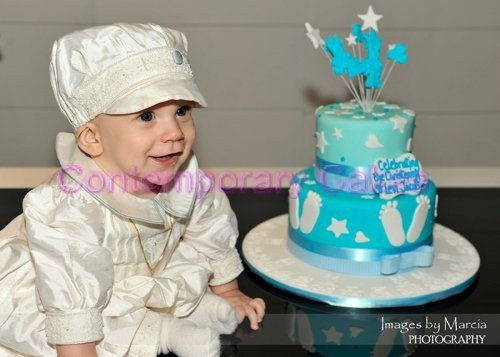 Baby Shower, christening cakes and cupcakes. Logan Brisbane Contemporary Cakes and Classes 443