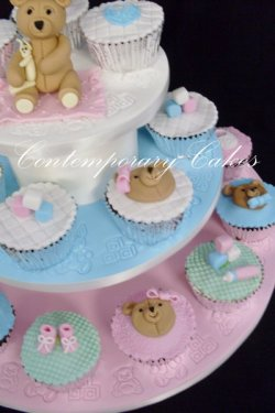 Baby Shower, christening cakes and cupcakes. Logan Brisbane Contemporary Cakes and Classes 62